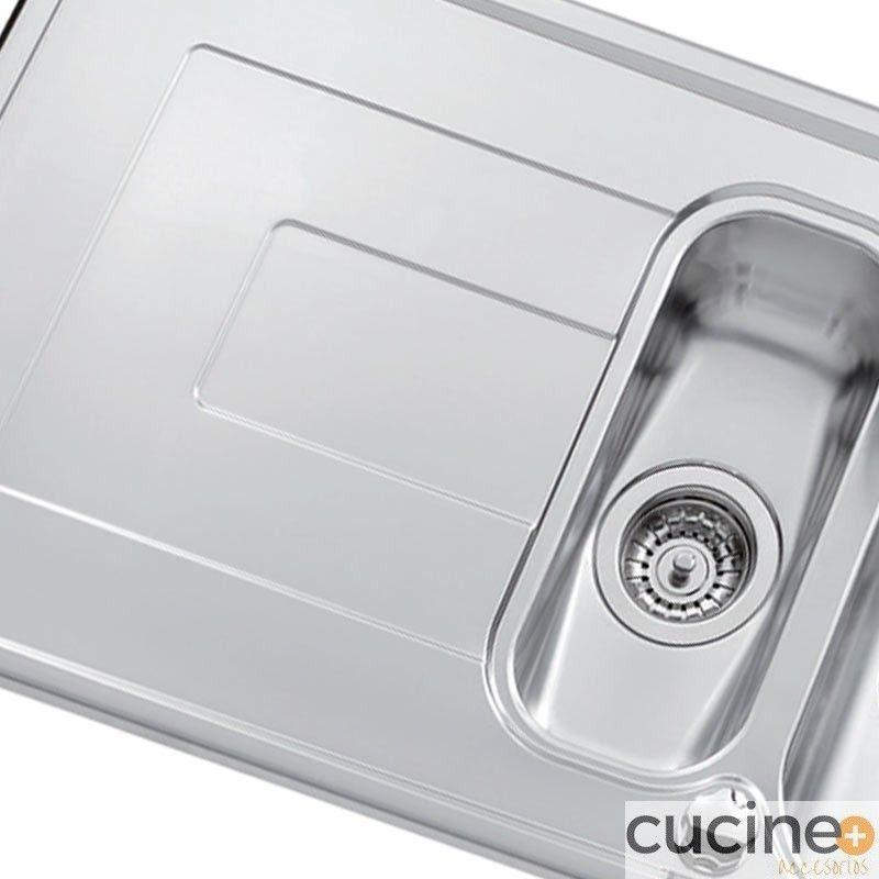 Fregadero luisinox sobreencimera cucine accesorios for Accesorios fregadero