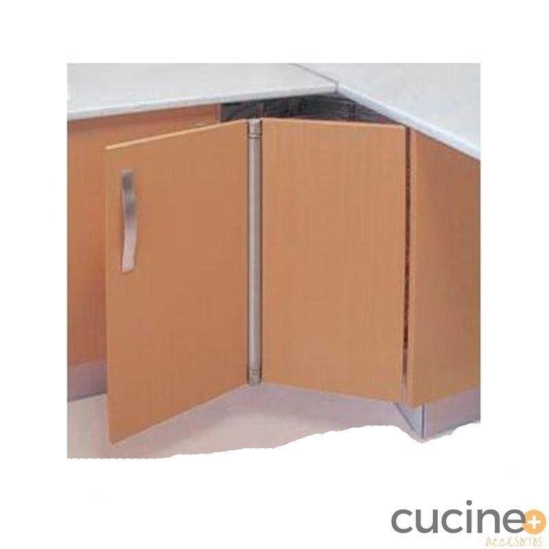 Bisagra mueble angular rincomat mate - Cucine Accesorios