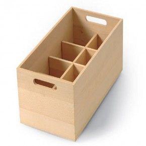 Caja de tablero marino rectangular