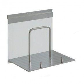 Portatablet en aluminio y cristal Linero Modern